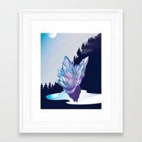gem Framed Art Prints featuring Gem by sduganfields