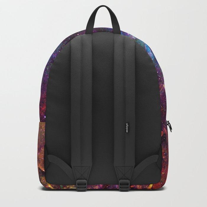 Rainbow Aura Quartz NebulÆ Backpack