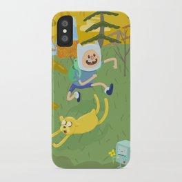 adventure friends iPhone Case