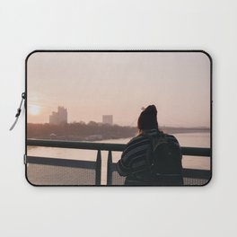 Lost in the moment Laptop Sleeve
