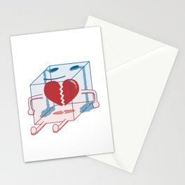 Little Box of Broken Heart Stationery Cards