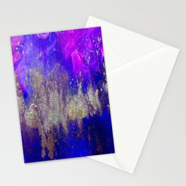 Galaxy Skyline Stationery Cards