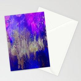 Galaxy Skyline Stationery Cards