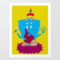 My Religion Art Print