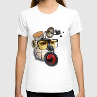 industrial T-shirts featuring industrial existence by Vin Zzep