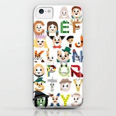 Oz-abet (an Oz Alphabet) iPhone 5c Slim Case