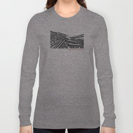 only you can revive me (lake moraine, banff, canada). Long Sleeve T-shirt