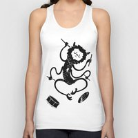 monster Tank Tops featuring Monster by Anya Volk