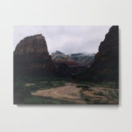 Towers of Zion Metal Print
