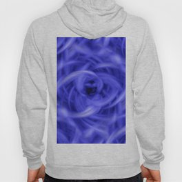Background Flames Blue Hoody
