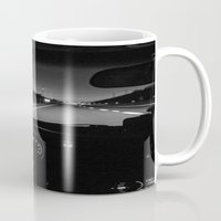 taxi driver Mugs featuring DRIVER by Stephanie Bosworth