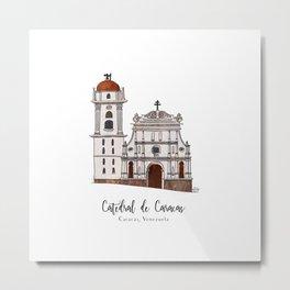 Catedral de Caracas Metal Print