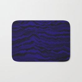 Night Waves Bath Mat