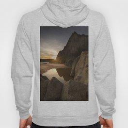 Sunset at Three Cliffs Bay Hoody