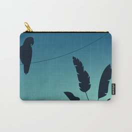 Parrott & Palm tree Carry-All Pouch
