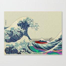 The Great Wave off Kanagawa 2016 Canvas Print