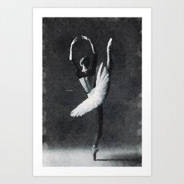 Dancing alone ... Art Print