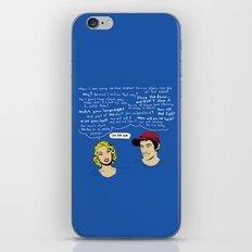 OK OK OK iPhone & iPod Skin