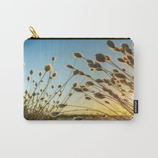 Cotton grass from the high moorland Carry-All Pouch