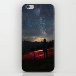 Night Camping iPhone Skin