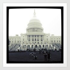 Our Nation's Capitol Art Print