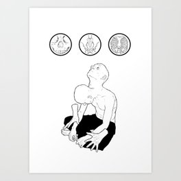 wishing-well/prison-cell Art Print