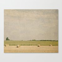 farm Canvas Prints featuring Farm by Pure Nature Photos