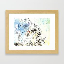 Horse Feathers Framed Art Print