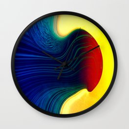 Molten Wall Clock