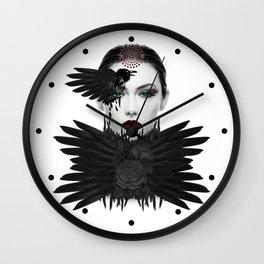 Weeping Gaia Wall Clock