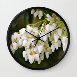 White Bells Wall Clock
