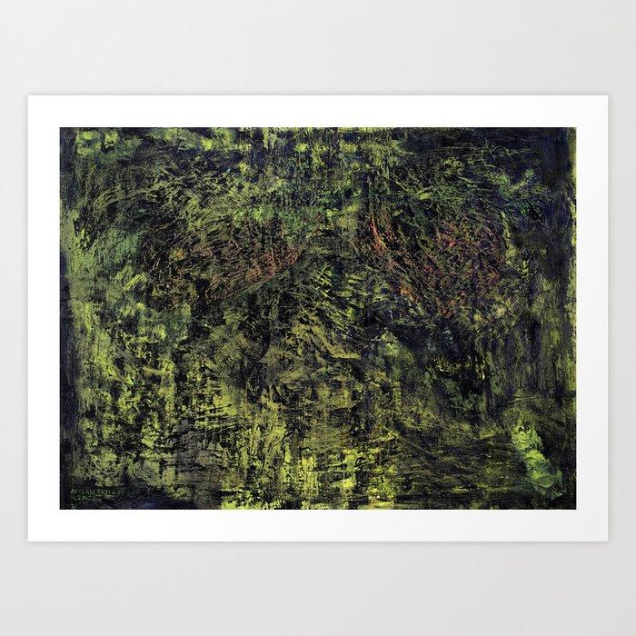 Nori (oil on canvas) Art Print