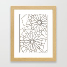 graphic Framed Art Print