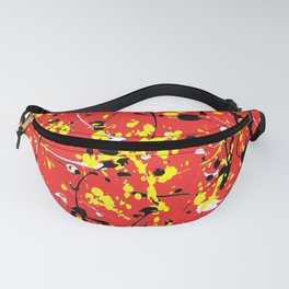 Red Yellow Black White Fanny Pack