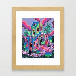 Wizard's House Framed Art Print