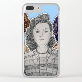 (Black Girl Power - Hidden Figures) - yks by ofs珊 Clear iPhone Case