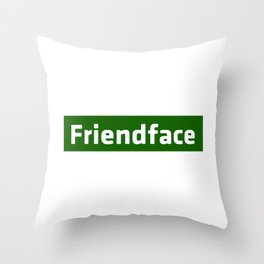 Friendface - The IT Crowd Throw Pillow