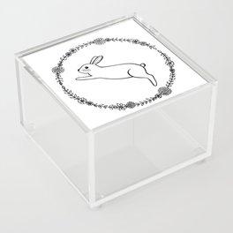 Hopping bunny Acrylic Box