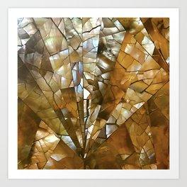 Traditional Hawaiian Mosaic Tile Designs Art Print