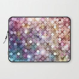 Rainbow glitter texture Laptop Sleeve