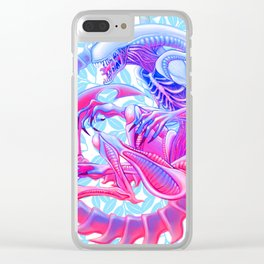 Xenomorph Clear iPhone Case