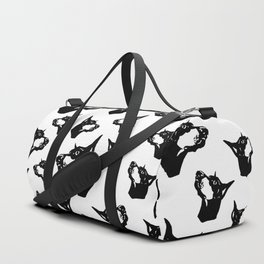 Doberman  Dog Duffle Bag
