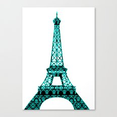 Architecture - Eiffel Tower Canvas Print