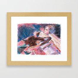 Chouchou 10 Framed Art Print