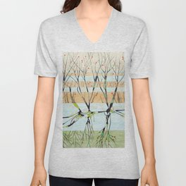 withered tree Unisex V-Neck