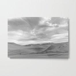 Shades of gray Metal Print