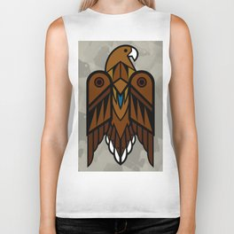 Golden Eagle Biker Tank