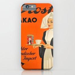 droste kakao echter hollandischer vintage Poster iPhone Case