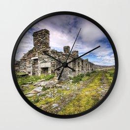 Quarry houses Wall Clock