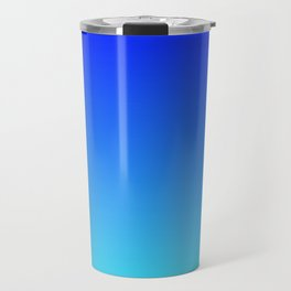 Caribbean Water Gradient Travel Mug